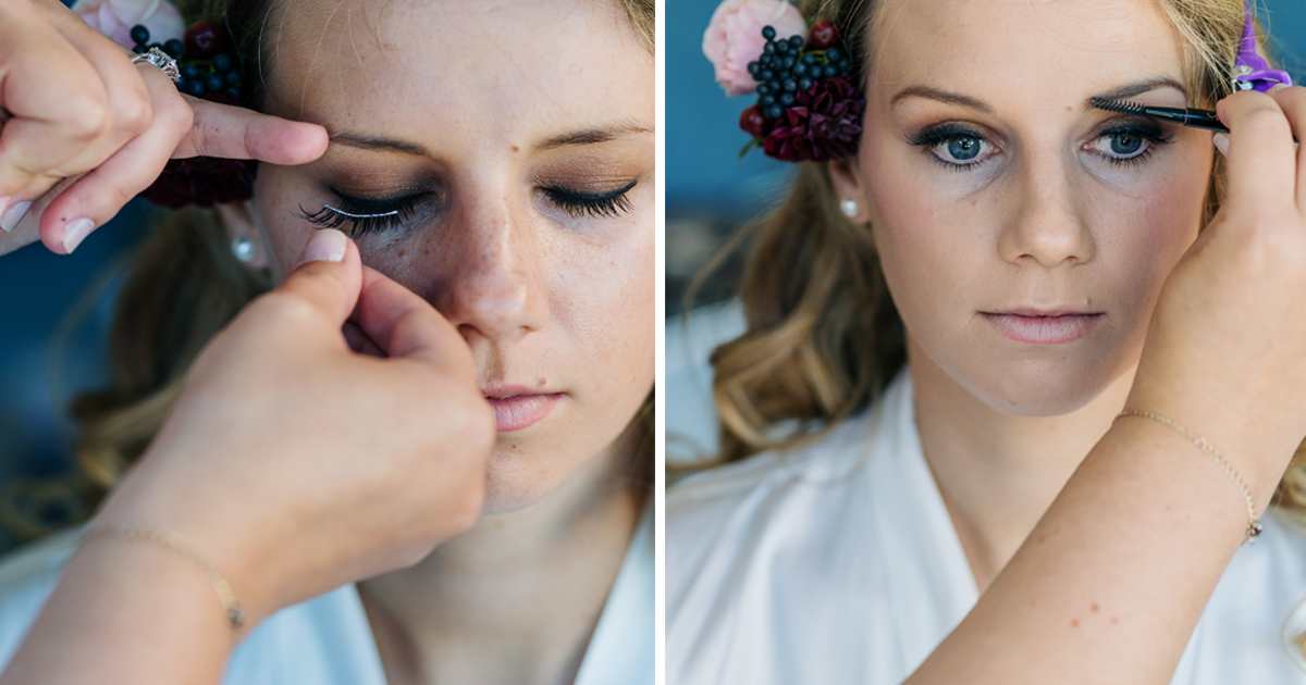 Bridal wedding make up 4