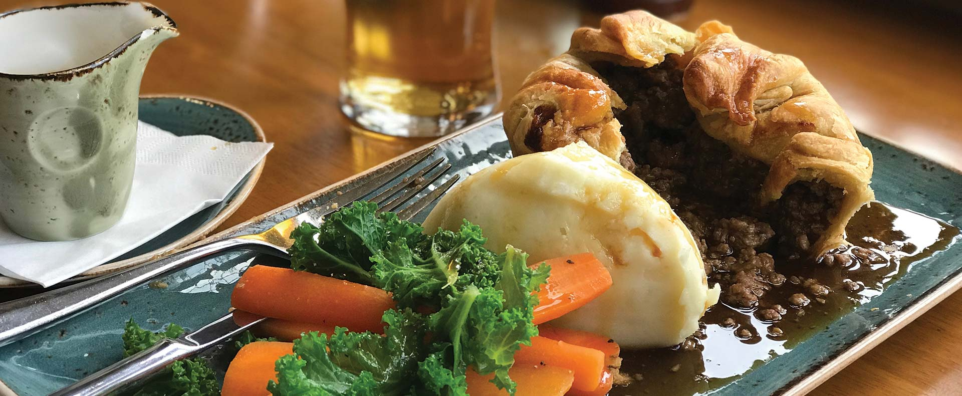British Pie Week at Monty's Inn