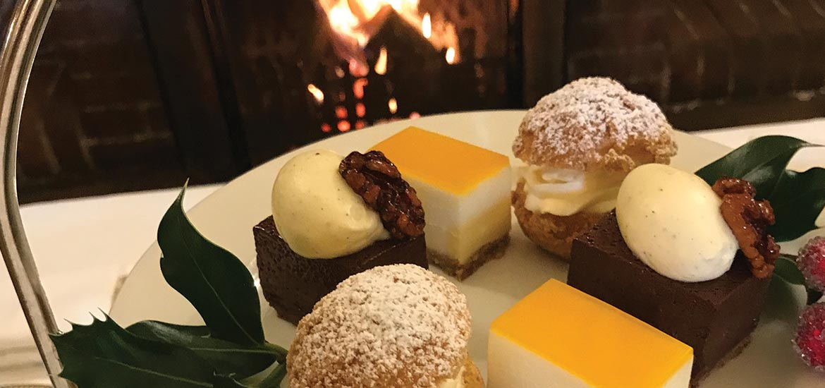 Christmas Party Ideas | Montagu Arms Hotel Afternoon Tea