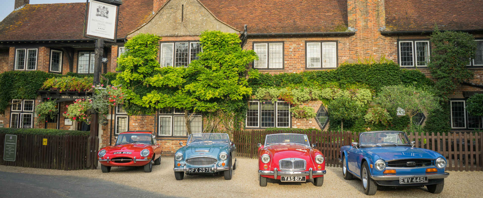 NEW Classic Car Break at The Montagu Arms