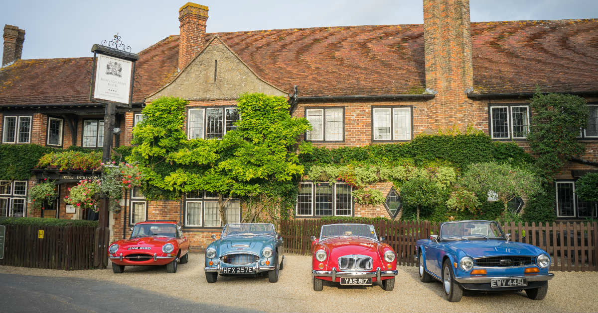 NEW Classic Car Break at The Montagu Arms | Beaulieu