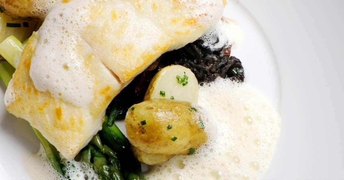 Dinner Party Recipe | Halibut | Montagu Arms