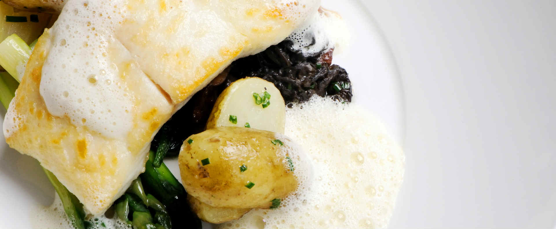 Dinner Party Recipe | Halibut | Montagu Arms1
