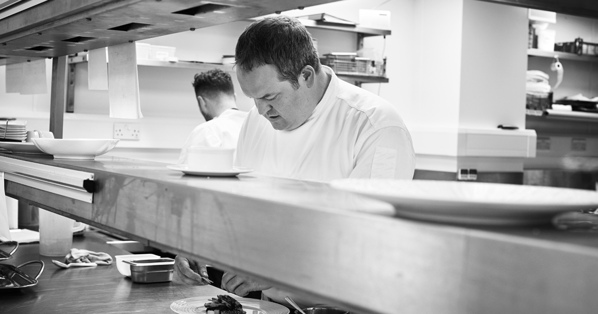 Head chef Montagu Arms Matt Tomkinson