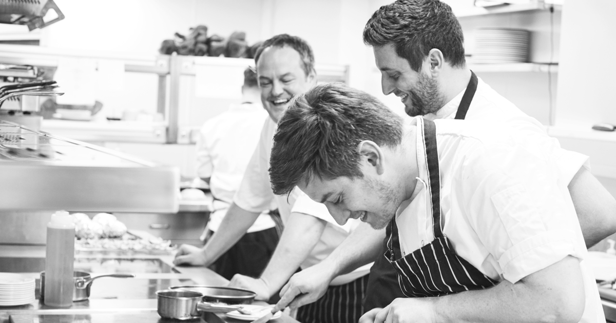 Head chef Montagu Arms Matt Tomkinson 2