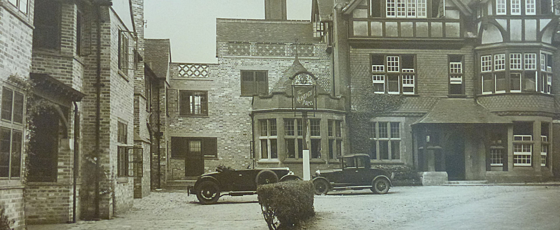 History | Montagu Arms Hotel
