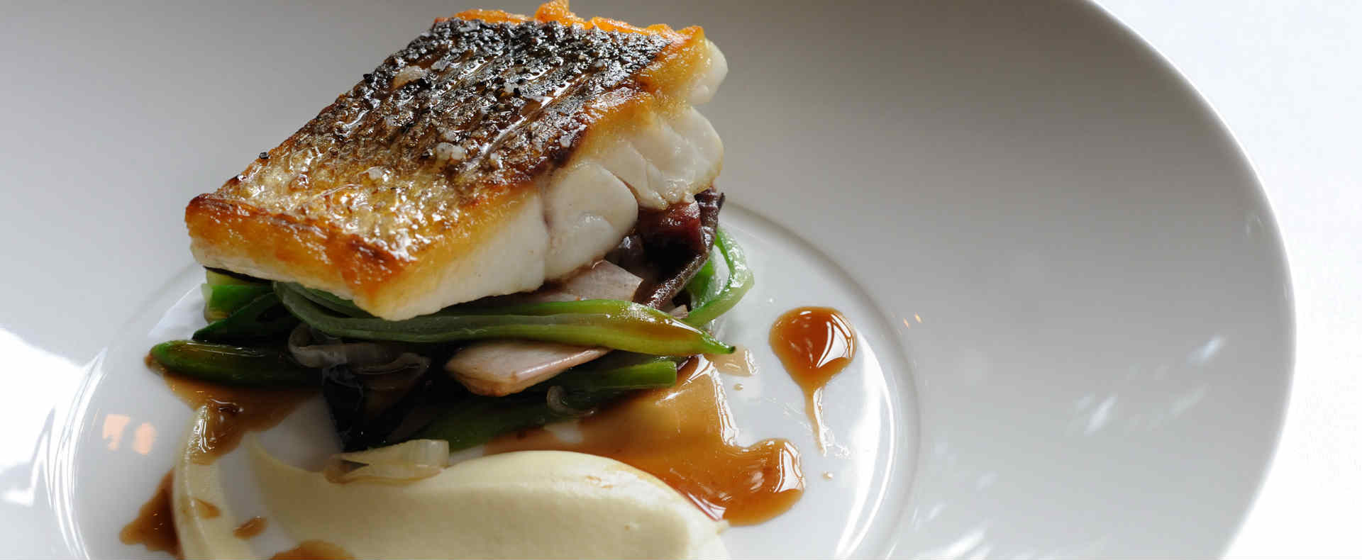 'Eat the Seasons' Recipe of the Month | Escalope of wild sea bass