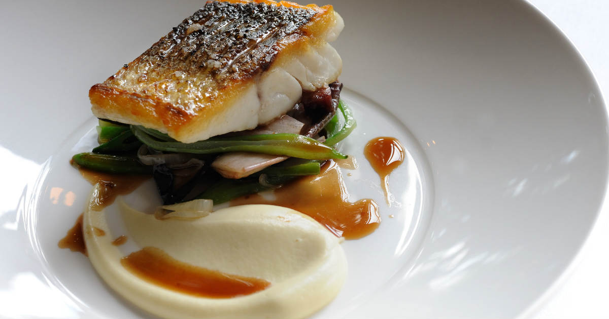 'Eat the Seasons' Recipe of the Month1 | Escalope of wild sea bass