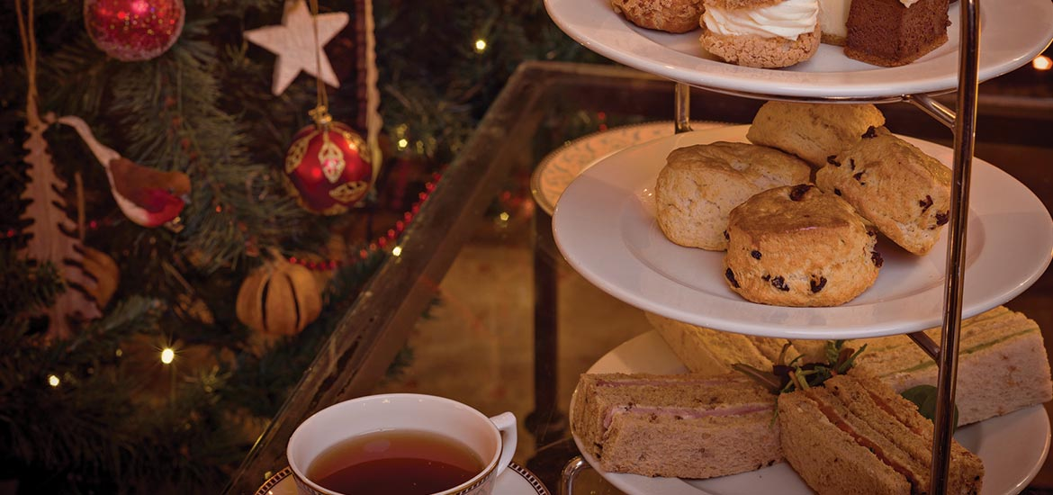 Christmas Afternoon Tea | Montagu Arms, Beaulieu
