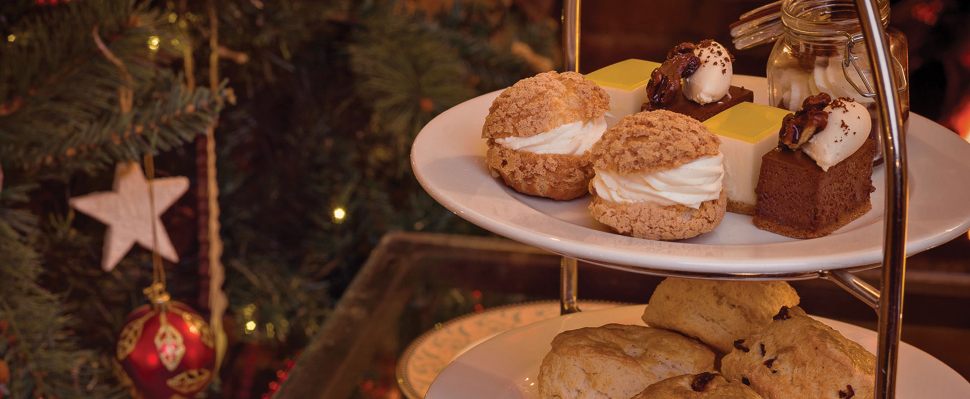 Yuletide Afternoon Tea | Montagu Arms Hotel