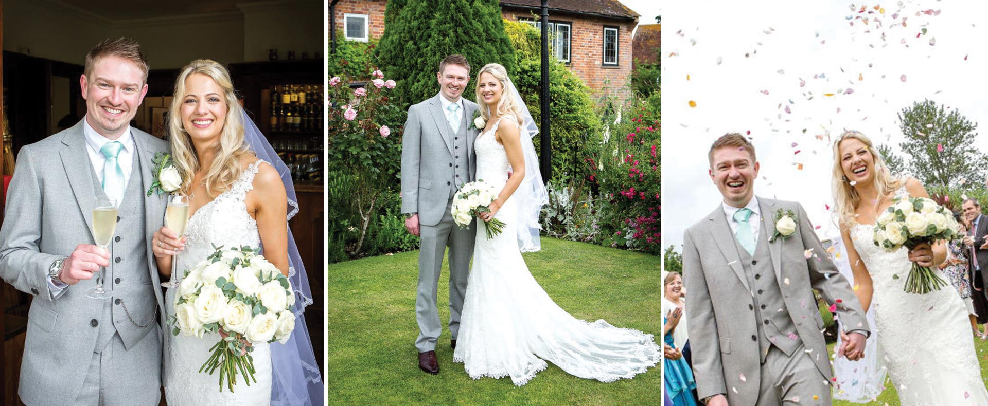 Real Weddings at The Montagu Arms | Andrew & Pamela 1