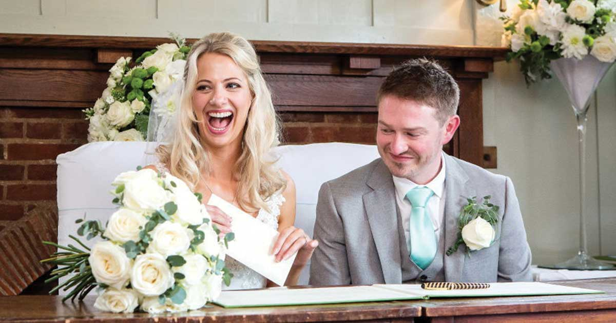 Real Wedding at The Montagu Arms | Andrew & Pamela 8