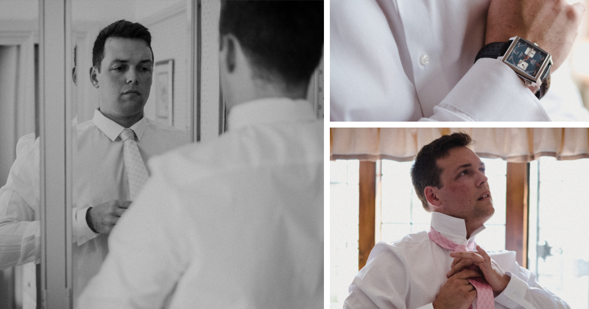 The Groom Collage
