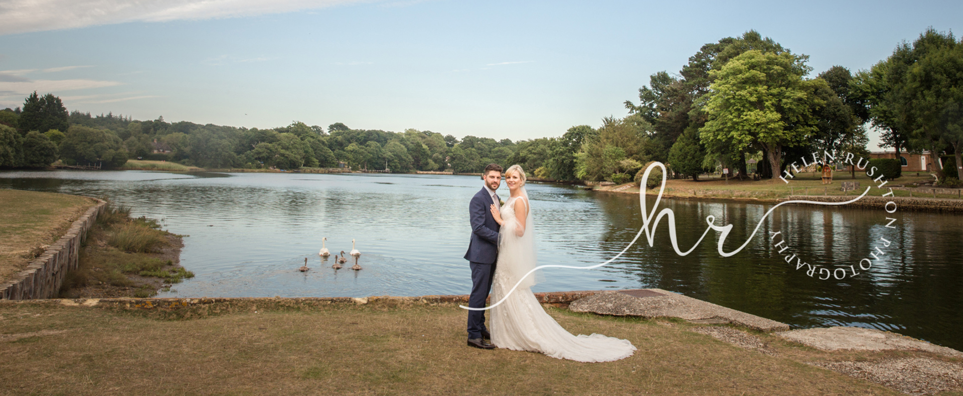 Nikki and Nick real wedding banner