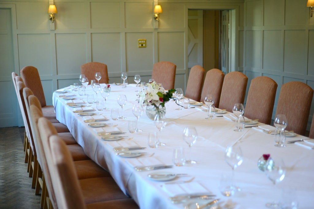 Private dining banqueting in hampshire montagu arms