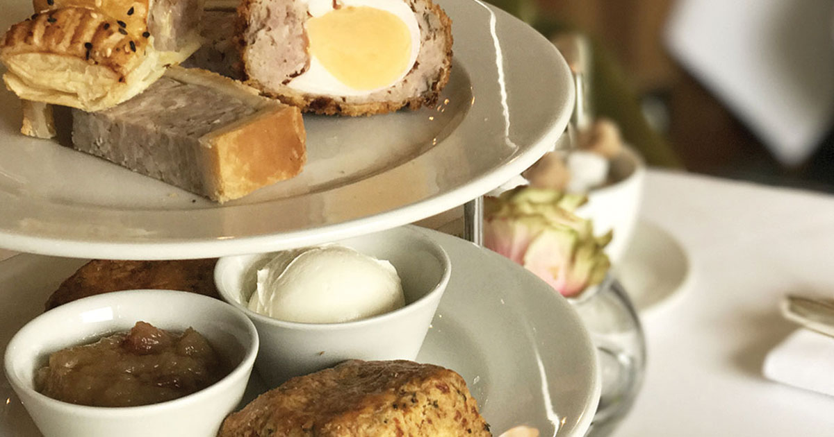 Prefer Savoury to Sweet? We Have the Perfect Afternoon Treat | Montagu Arms Hotels