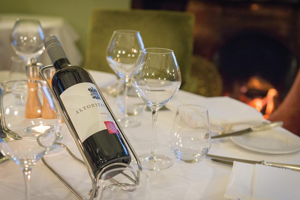 Christmas Parties | Wine Tasting at The Montagu Arms